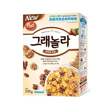 Dongsuh Post Granola Cocoa Walnut 510G