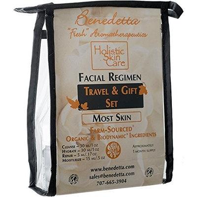 Benedetta Facial Regimen Travel & Gift Set - Rosemary Verbenone - For Most Skin