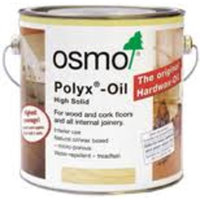 Osmo Polyx Oil - 3062 Matt Clear - 0.75 Litre