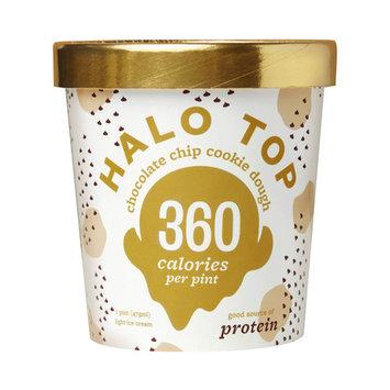 Halo Top Chocolate Chip Cookie Dough Ice Cream, 1 pint