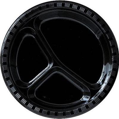 10 Inch Divided Plates Velvet Black Package of 20  sc 1 st  Influenster & 10 Inch Divided Plates Velvet Black Package of 20 Reviews