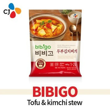 Bibigo Korean Traditional Kimchi Stew with Tofu 460g/두부김치찌개/비비고