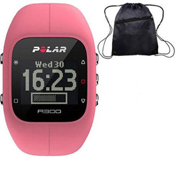 Polar - A300 Fitness and Activity Monitor w o HR with Bag - Pink