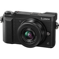 Panasonic Corp Of N America Panasonic - Lumix Gx85 Mirrorless Camera With G Vario 12-32mm F/3.5-5.6 Asph. Mega O.i.s Lens - Black