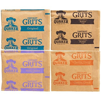Quaker Instant Grits Variety Sampler Pack (48 Count)