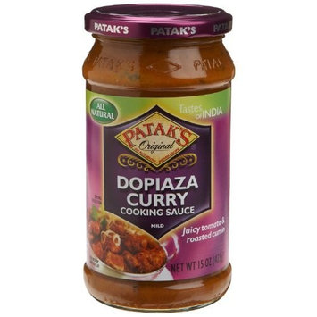 Pataks, Sauce Cooking Dopiaza, 14.5-Ounce(Pack of 6)