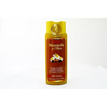 Shampoo Manzanilla Y Olivo Prevent Infection and Moisturizes, Natural Hair Rinse