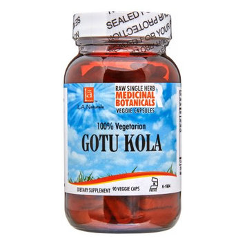 L A Naturals Gotu Kola, 90 Ct