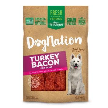 Freshpet® Dognation® Dog Treat - Natural, Grain Free, Turkey Bacon size: 3 Oz