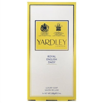 Yardley of London Royal English Daisy 3 x 3.4 oz Luxury Hand Soap