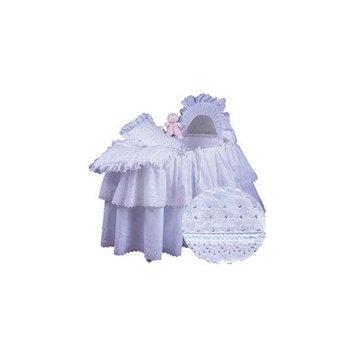 Babydoll Little Angel Bassinet Set, Mint Ribbon