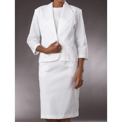 Peaches Uniforms Women's Two Piece Scrub Dress Suit
