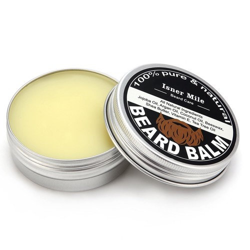 Beard Balm for Men Leave-in Conditioner All Natural Friendly Organic Mustache Oils and Butters
