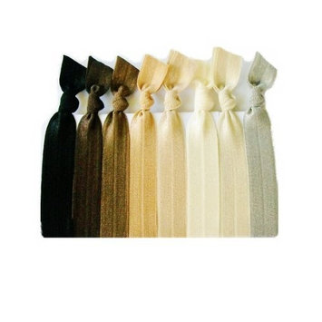 Hair Ties, Ombre Naturals Elastic Ribbon, Ponytail Holders