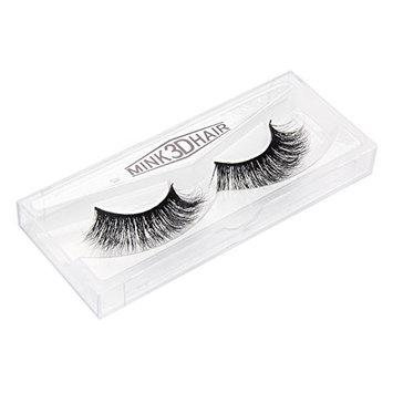 Voluex Mink 3D Lashes Dramatic Makeup Strip Eyelashes 100% Siberian Fur Fake Eyelashes Hand-made False Eyelashes 1 Pair Package