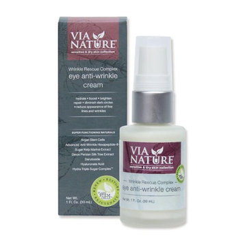 Via Nature 1628502 1. oz Anti-Wrinkle Rescue Complex Eye Cream