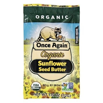 Once Again Organic Sunflower Butter, Squeeze Bottle, 1.15 Oz