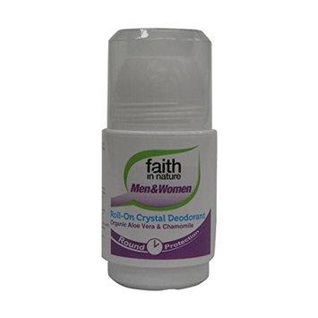 Faith In Nature Roll-On Deodorant Aloe Vera & Chamomile 50ml (2 Pack)