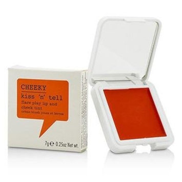 Cheeky Kiss N Tell Lip and Cheek Tint, Flare Play, 0.25 Ounce