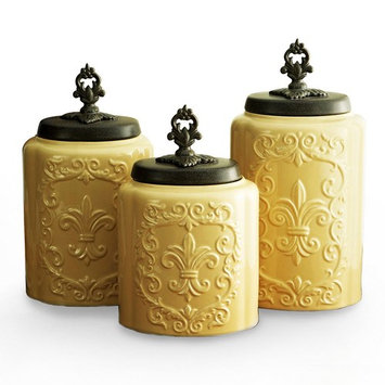 American Atelier 3-pc. Canister Set