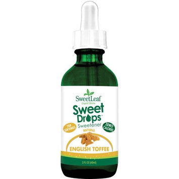 SweetLeaf Sweet Drops English Toffee Sweetener, 2 fl oz, (Pack of 3)