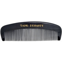 TANG DYNASTY No Static 100% Handmade Natural Fine Black Ox Horn Comb With Gift Box 002