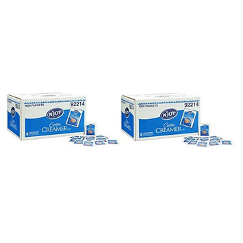 N'JOY - Non-Dairy Powdered Creamer Packets - 1,000 Count (Pack of 2)
