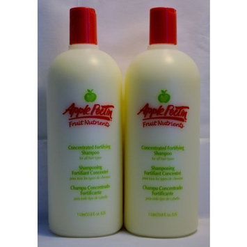 Apple Pectin Fruit Nutrients Concentrated Fortifying Shampoo 33.8 Fl Oz by Zotos [Beauty] by Zotos