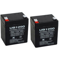 Battery for Universal Battery UB1245-2 Pack