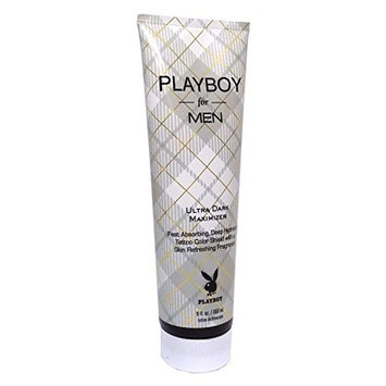 Playboy For Men Ultra Dark Maximizer Tanning Lotion
