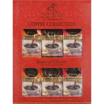 Godiva Seasonal Classics Coffee Collection, 6 ct
