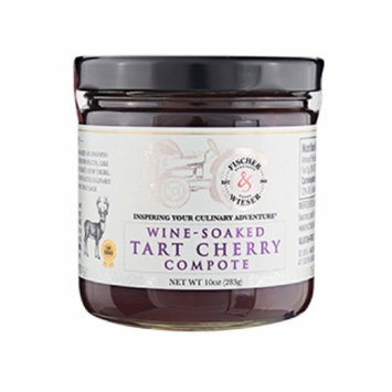 Fischer & Wieser Wine-soaked Tart Cherry Compote 10 Oz. (Pack of 1)