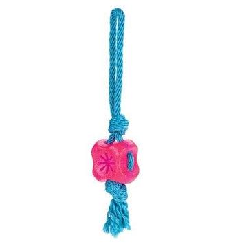Grriggles FUNdamentals Treat Tug Dog Toy BLU