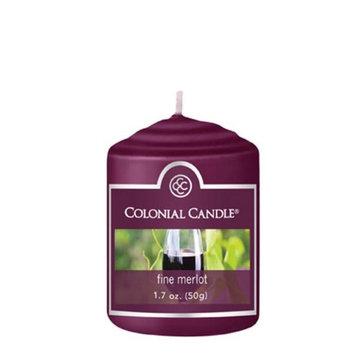 Classic Wax CC015.584 Votive Fine Merlot Candles Pack of 18
