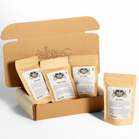 Bean Box Gourmet Hawaiian Coffee Sampler, Hawaiian Coffee, 4 Bags