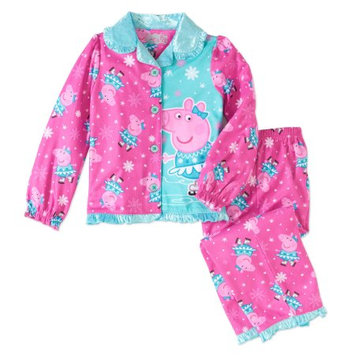 Peppa Pig 2-Pc. Printed Pajama Set, Toddler Girls (2T-5T)