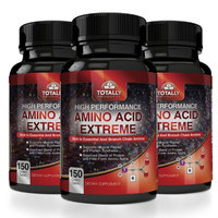 Totally Products Advanced Body Building Amino Acids 2200mg (450 Tablets) (Pack of 3)