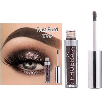 Water-based Eyeshadow Palette,Sefter Sparkly Long Lasting Shiny Diamond Gradient Eye Shadow Powder Matt for Professional Makeup or Daily Use