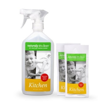 2-Pack 24oz Naturally It's Clean Tub&Tile Cleaner; Enzyme Cleaner Safely Cleans&deodorizes All Bathroom Surfaces (Tile, Grout), Breaks Down soap scum& Grime; Non-Toxic, Pet Safe&Child Safe