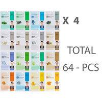 Dermal Korea Collagen Essence Mask Sheet 64PCS Combo Pack