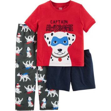 Child of Mine by Carter's Baby Toddler Boy 3 Piece Pajama Set