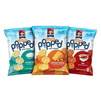 Pepsi Quaker Popped Gluten Free Rice Crisps Variety Pack, 30 Count