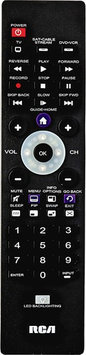 Voxx Accessories Rca - 3-device Universal Remote - Black