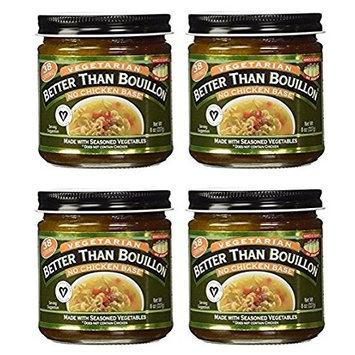 Better Than Bouillon, No Chicken Base, Vegan Certified 8 oz (Pack of 4)