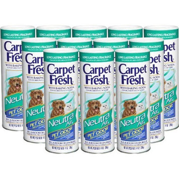 Carpet Fresh 279141 Rug and Room Deodorizer with Baking Soda 14 oz Neutra Air for Pets Fragrance (Pack of 12)