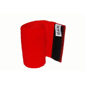 Wrap-it Latex Free Bandages, Wrist Wrap, Red, 4 Inch By 12 Inch