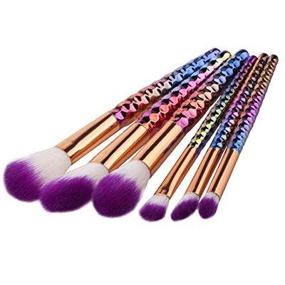 DATEWORK 6PCS Cosmetic Eyeshadow Brush