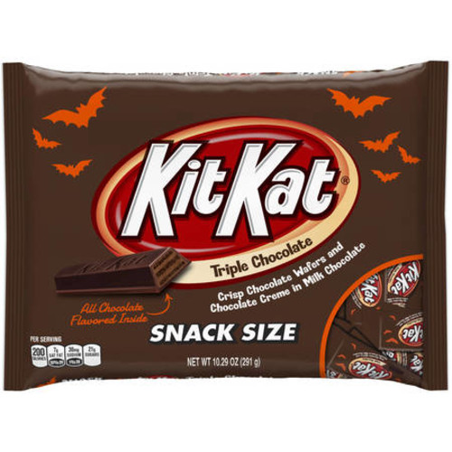 Kit Kat® Triple Chocolate Snack Size Halloween Candy Bars, 10.29 oz