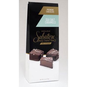 Ssi G. Debbas Chocolatier, Llc Salvatore Constantino Caramels, Sea Salt, 4.2 Oz