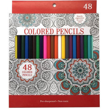 Leisure Arts Colored Pencils, Pack of 48